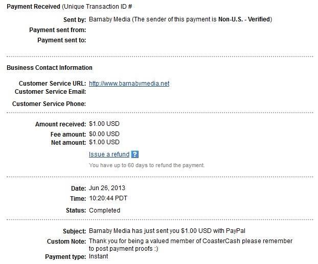 My 1st payment CoasterCashproof001_zpseebd48aa