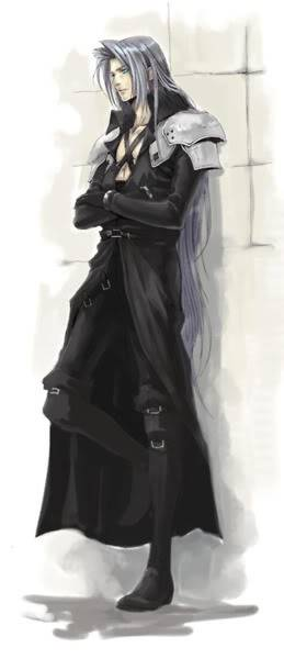 The Man in the Black Cape, Sephiroth  Tumblr_lmentzdrhP1qghk90o1_400