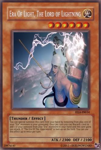 ! DuelingWizard !'s Era Deck Lightning