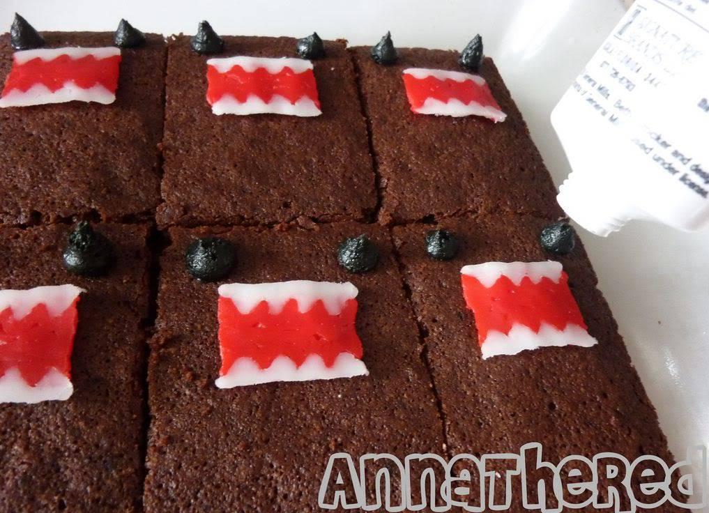 Domo-kun Brownies 111