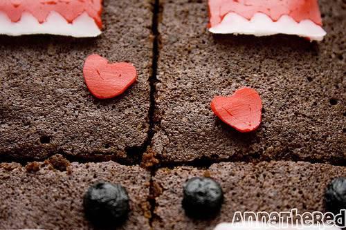 Domo-kun Brownies 16