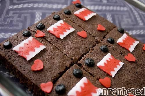 Domo-kun Brownies 17