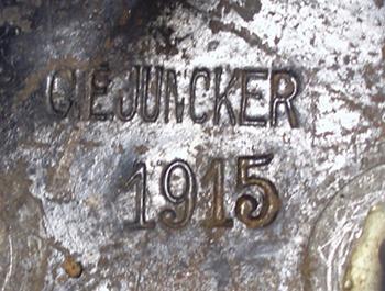 Casque de Cuirassier Allemand mle 15 troupe CEJuncker1