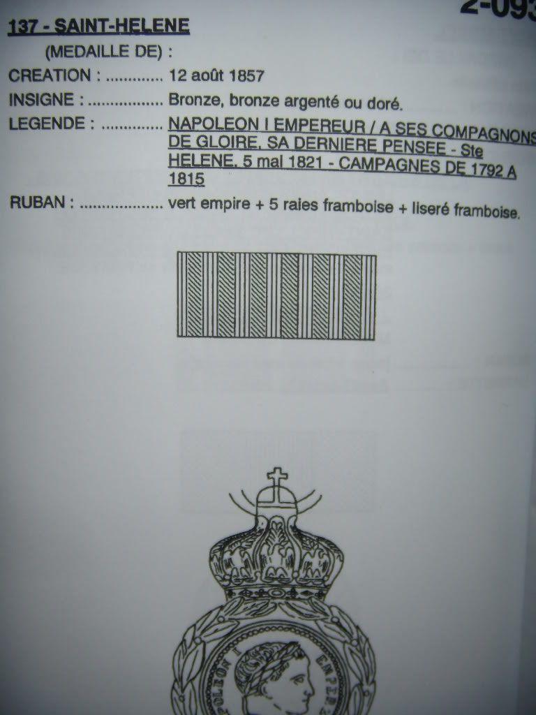 La médaille de Sainte-Hélène DSCN6583