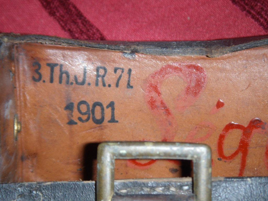 Evolution cartouchières allemandes WWI DSCN9099-1