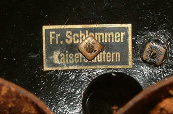 Casque de Cuirassier Allemand mle 15 troupe Schammer1