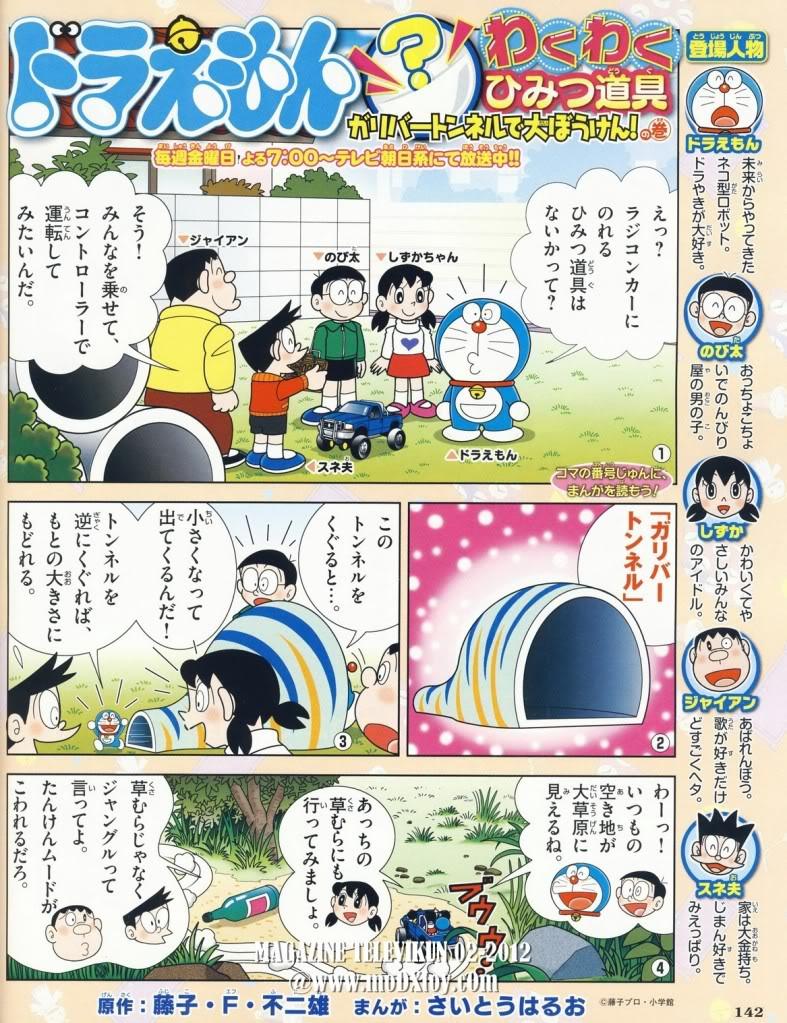 [Tổng hợp] Tổng hợp link đọc truyện của DoremonFC 01_2-2012