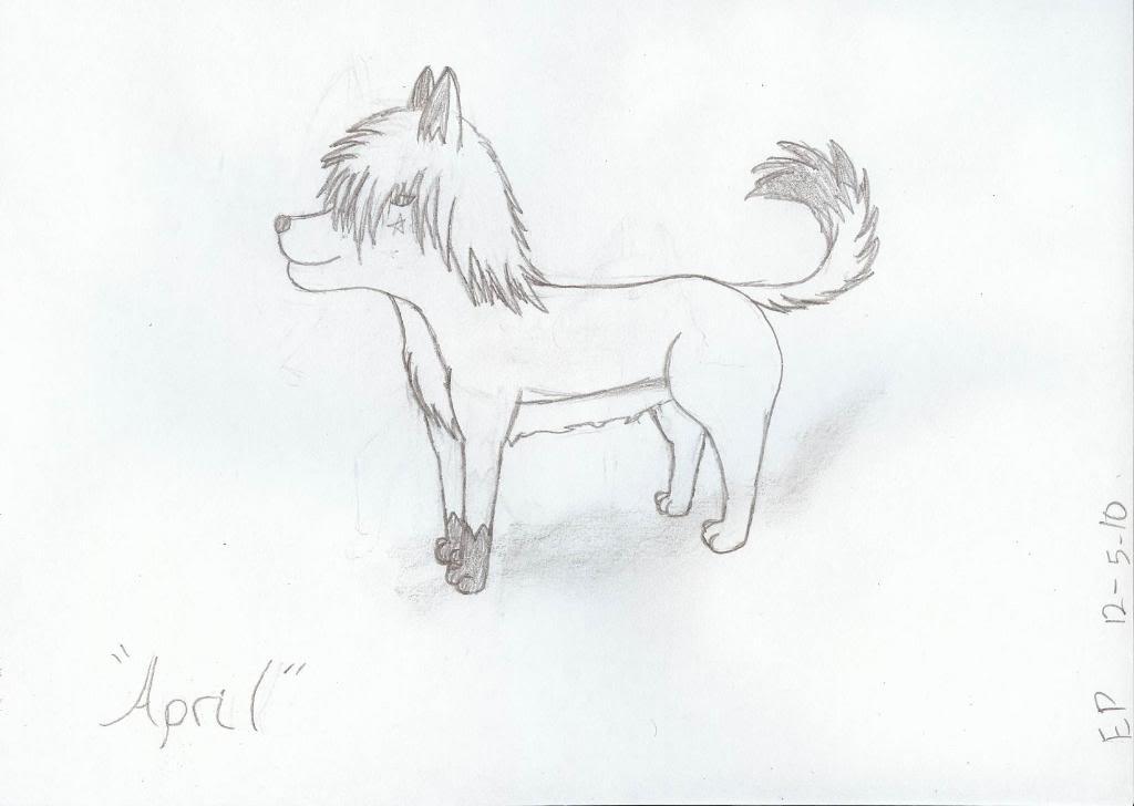 April Sketch April