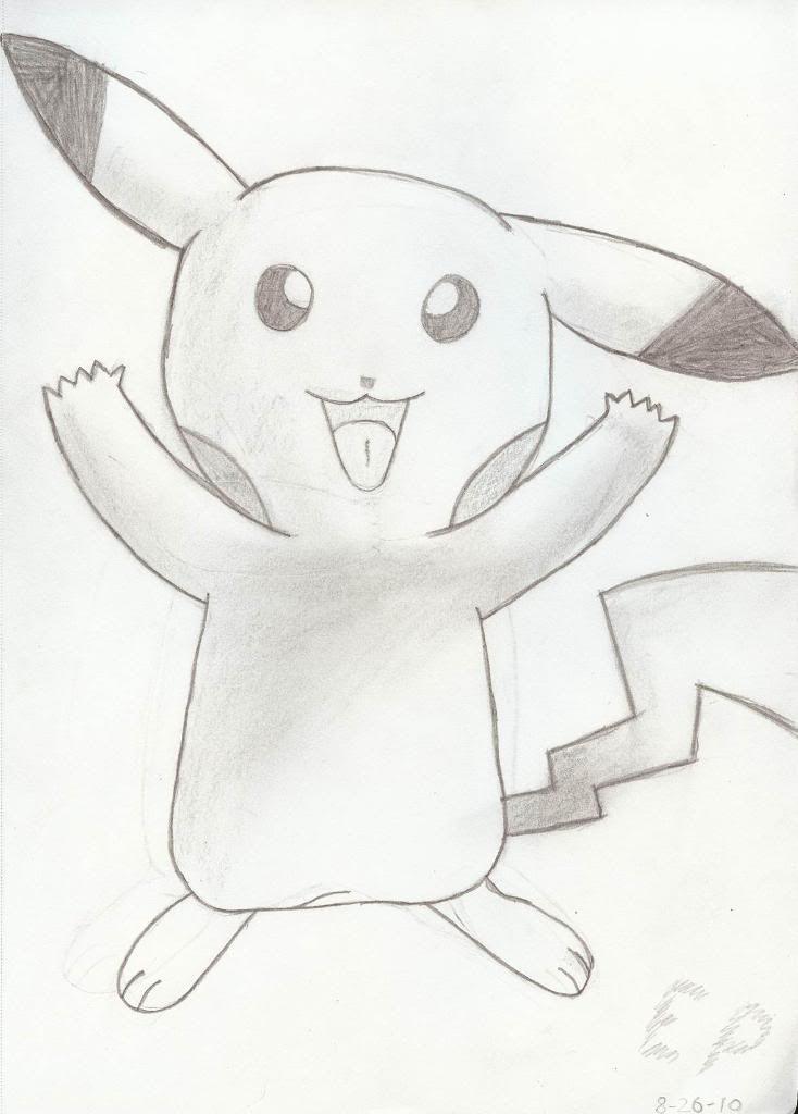 First Pikachu Sketch Myfirstpikachu