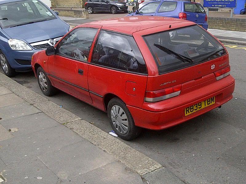 FS - 1997 Subaru Justy £350 / spares or repairs  IMG-20120410-00518