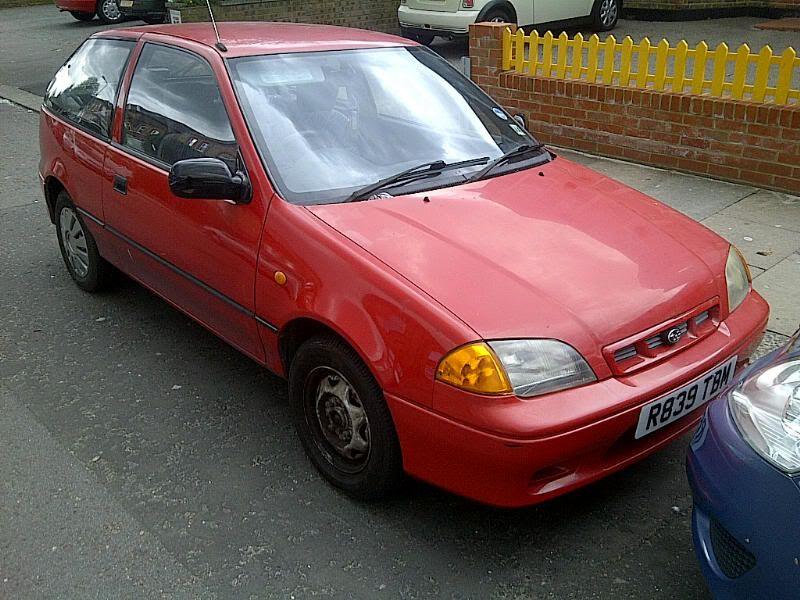 FS - 1997 Subaru Justy £350 / spares or repairs  IMG-20120410-00519