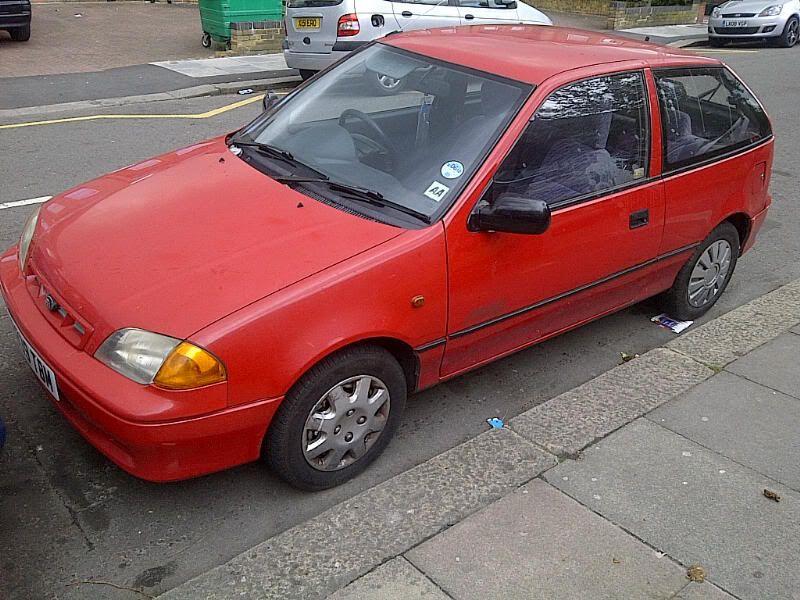 FS - 1997 Subaru Justy £350 / spares or repairs  IMG-20120410-00520