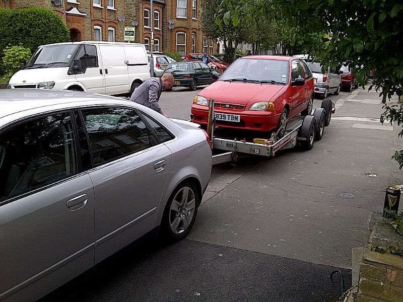 FS - 1997 Subaru Justy £350 / spares or repairs  IMG-20120517-00580