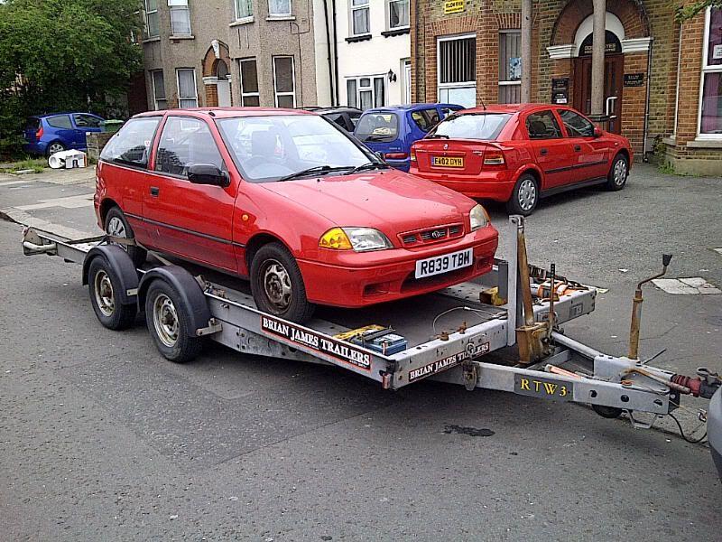 FS - 1997 Subaru Justy £350 / spares or repairs  IMG-20120517-00581
