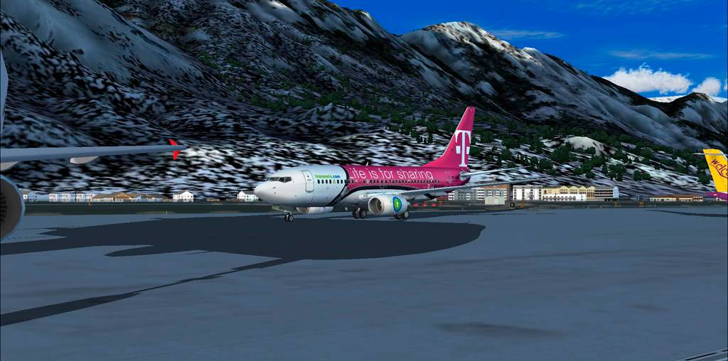 Innsbruck (LOWI) / Brussels (EBBR) 4-1