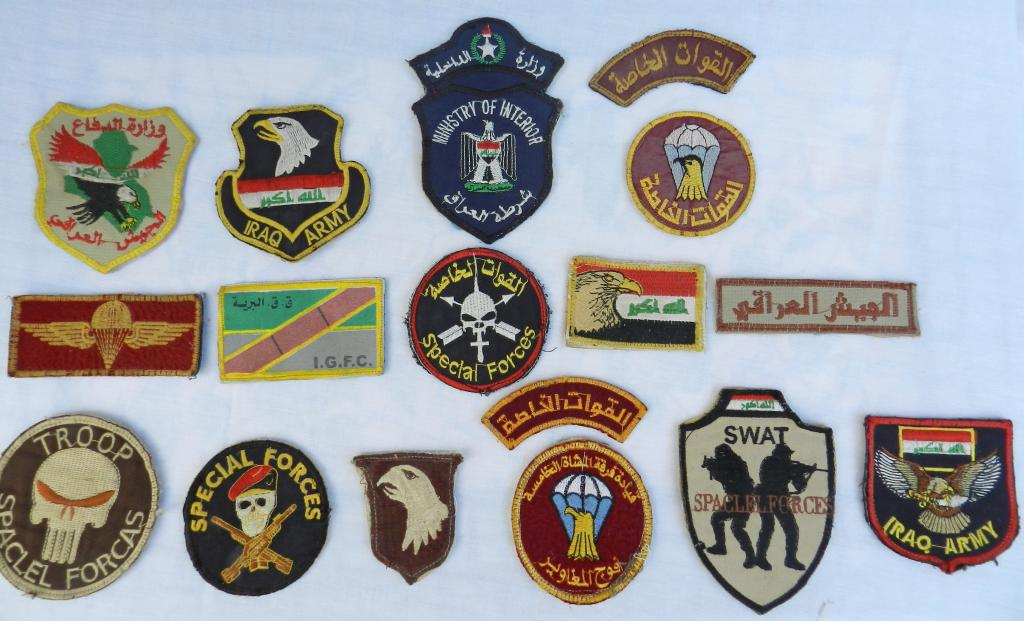 A Bunch of Worn Iraqi Patches  DSCN2171_zps0fe0c80d