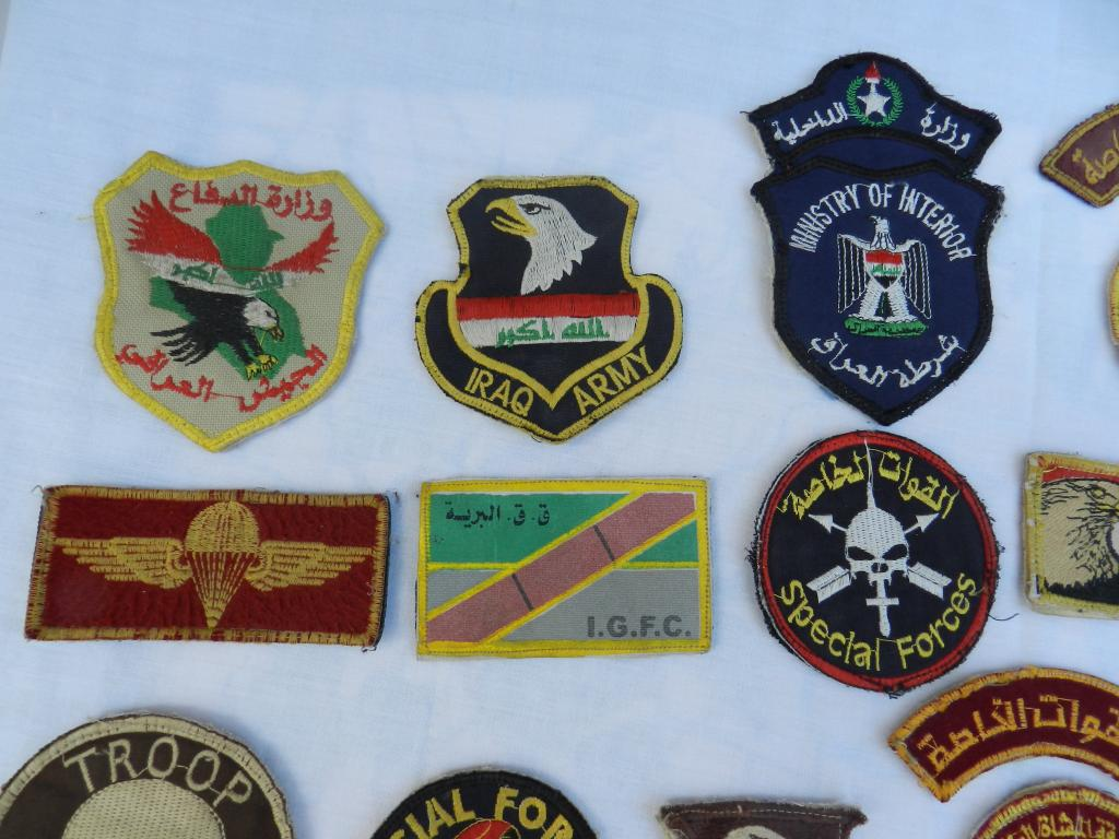 A Bunch of Worn Iraqi Patches  DSCN2173_zps2dc83a04