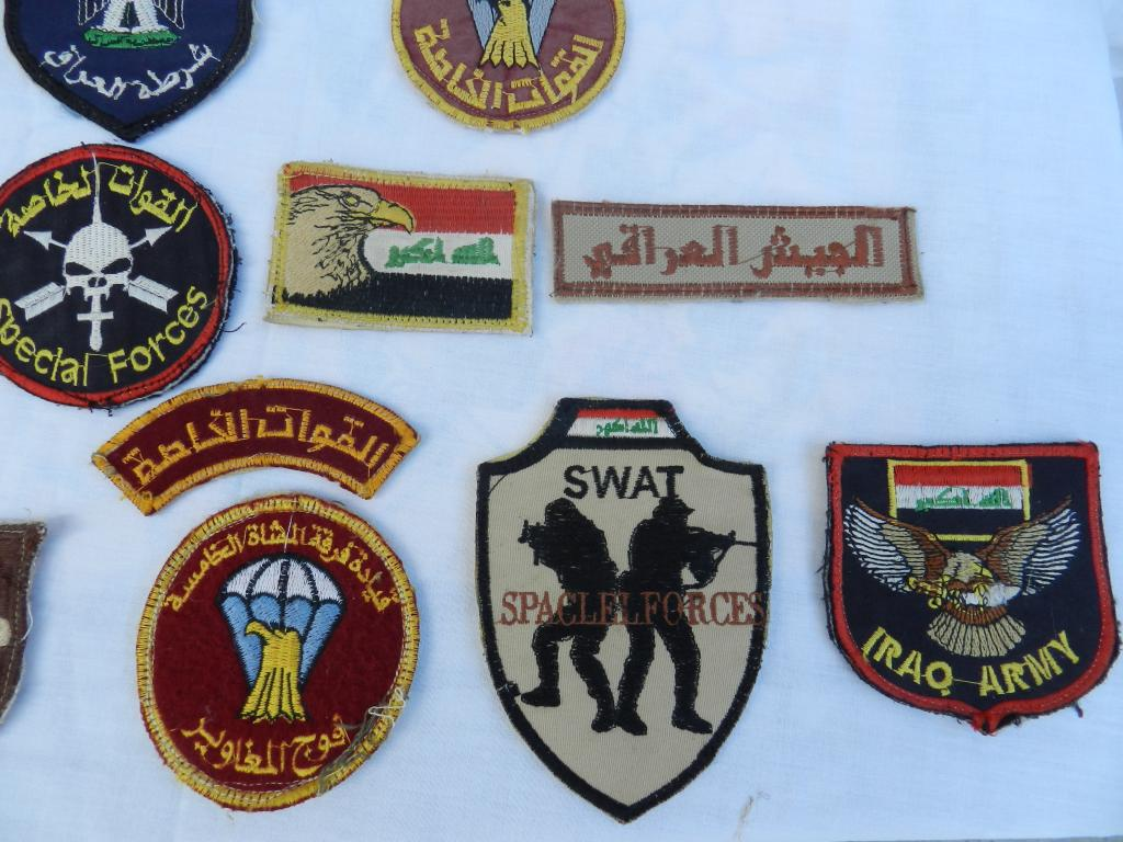 A Bunch of Worn Iraqi Patches  DSCN2174_zps2495119e