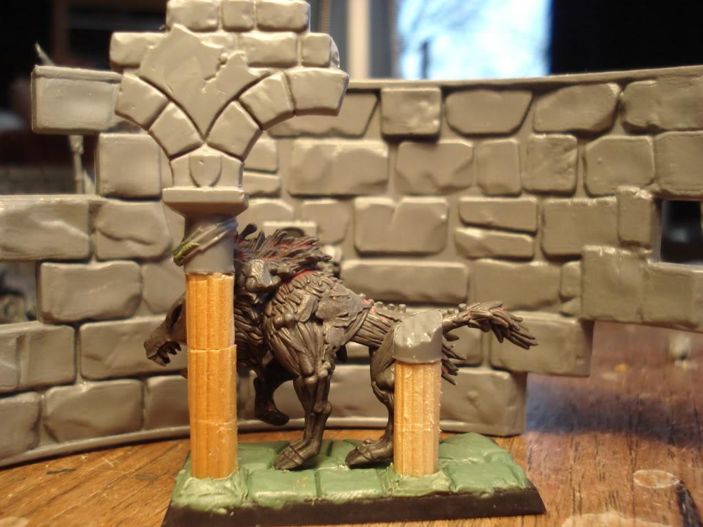 Gardamazh's undead warband. DireWolf2