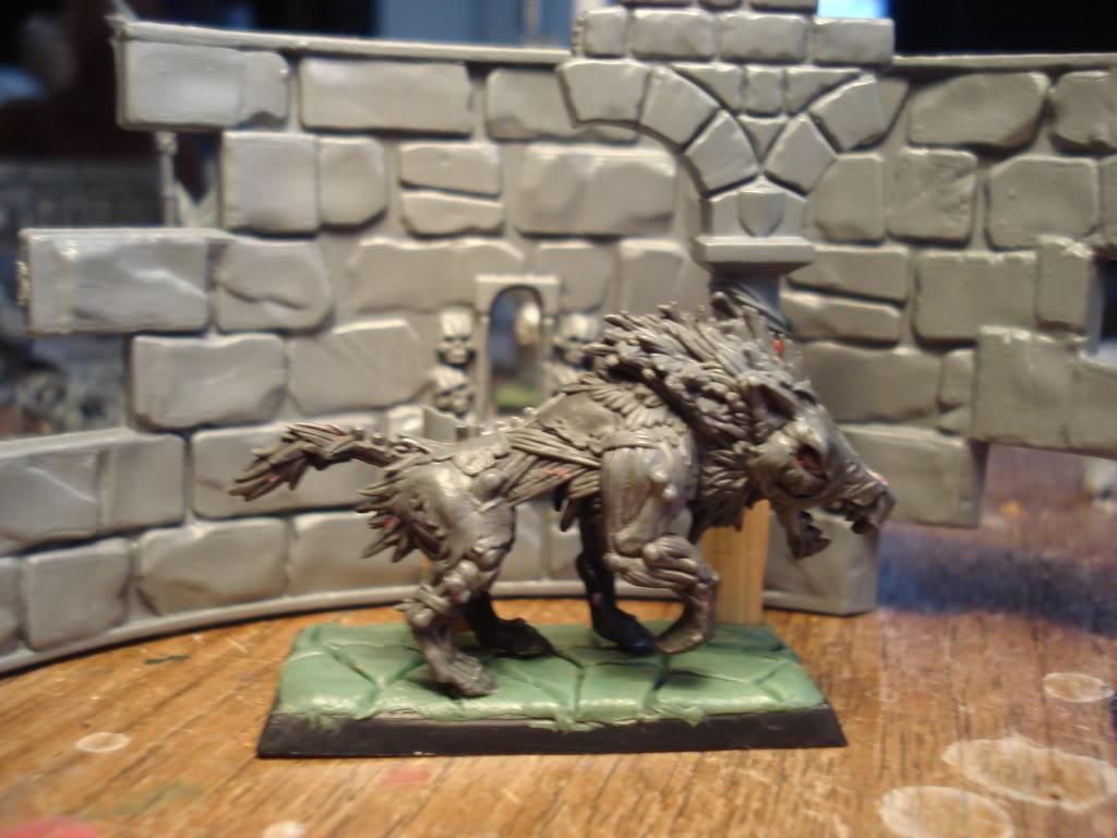 Gardamazh's undead warband. DireWolf3