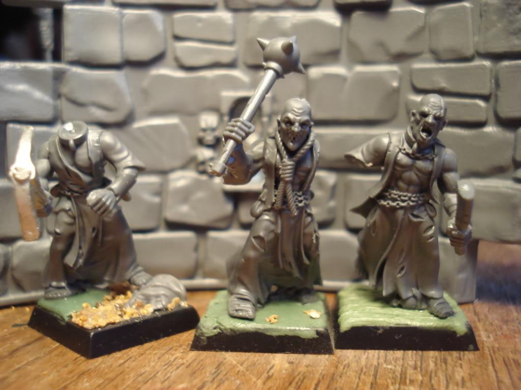 Gardamazh's undead warband. Zombies