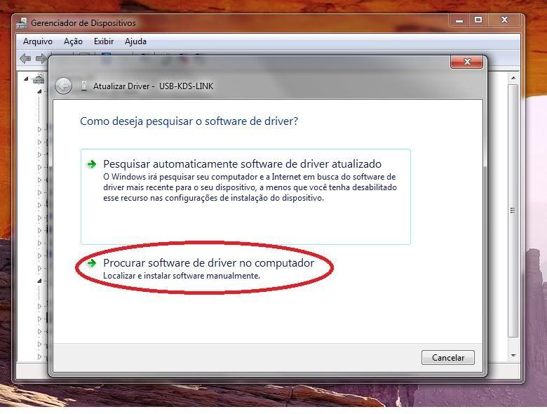 Instalando driver do KDS Flymentor (KDS-USB-Driver) no Windows7 32 e 64. Windows7