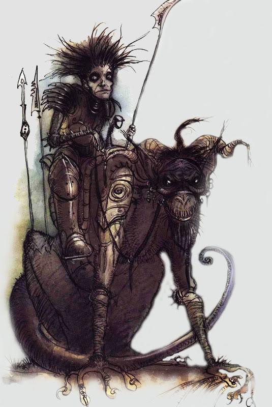 Diário de Campanha - A Sombra de um Mythallar - Parte Provisória. Howlerp