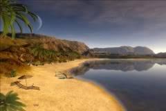 Sandy Beach Animebeach