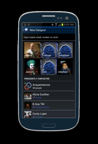 Black aplikace - Stránka 2 Hangouts-Contacts