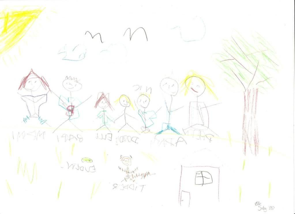 Ariel's drawing table Elle88