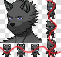 Personnage loup Face1