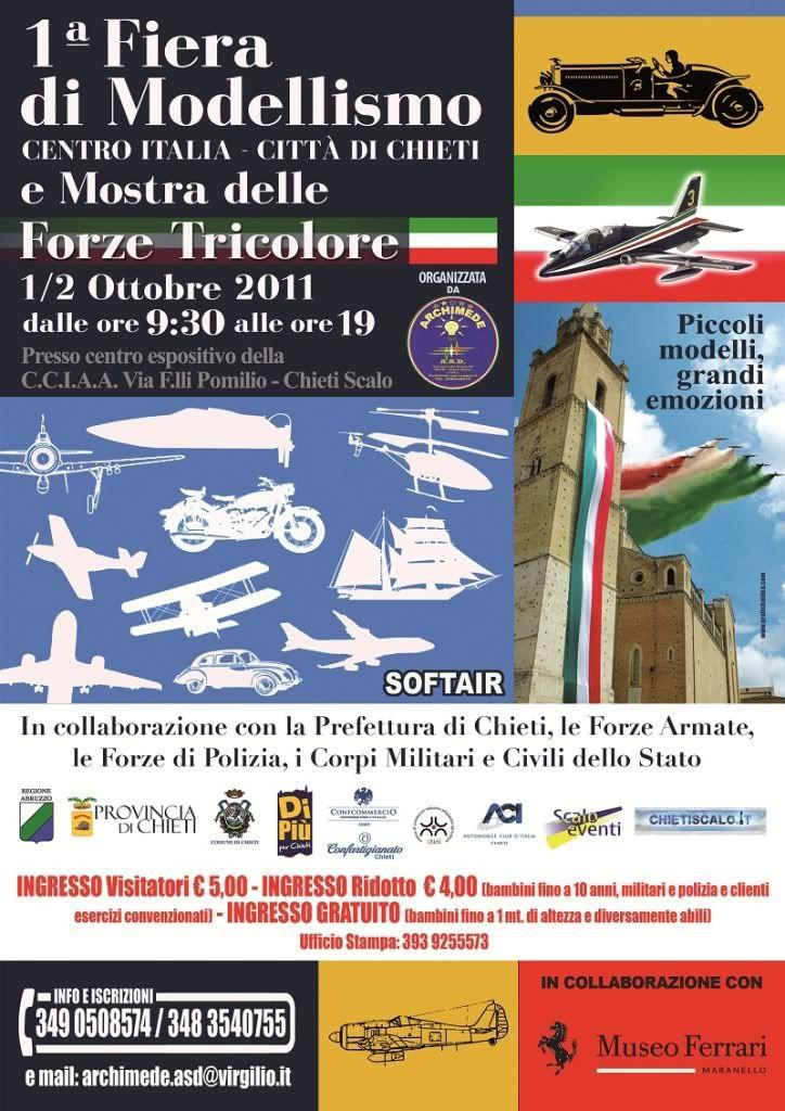1° fiera di modellismo Centro Italia 1 e 2 Ottobre Chieti VolantinoFIERAMODELLISMOproposta3