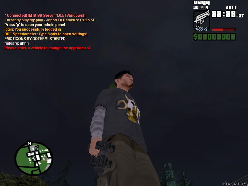 avances del juego gantz club 3D online  Sinttulo-4