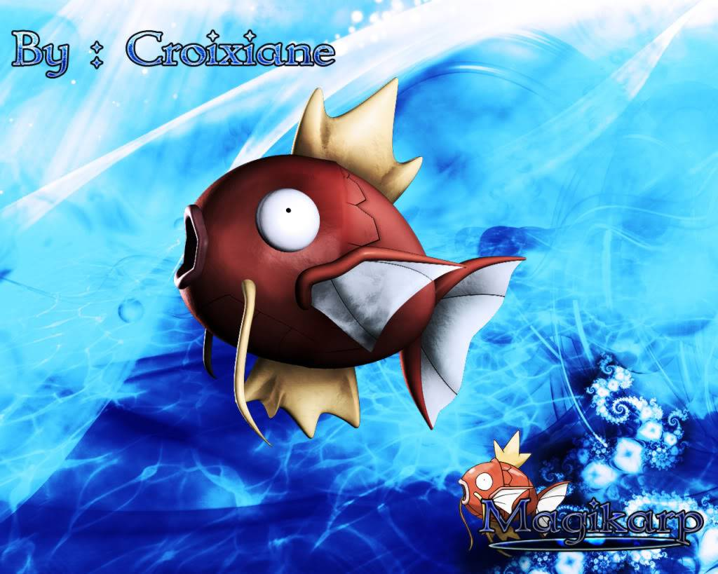 Ciane's Wallpapers MagikarpWallpaperCroixiane