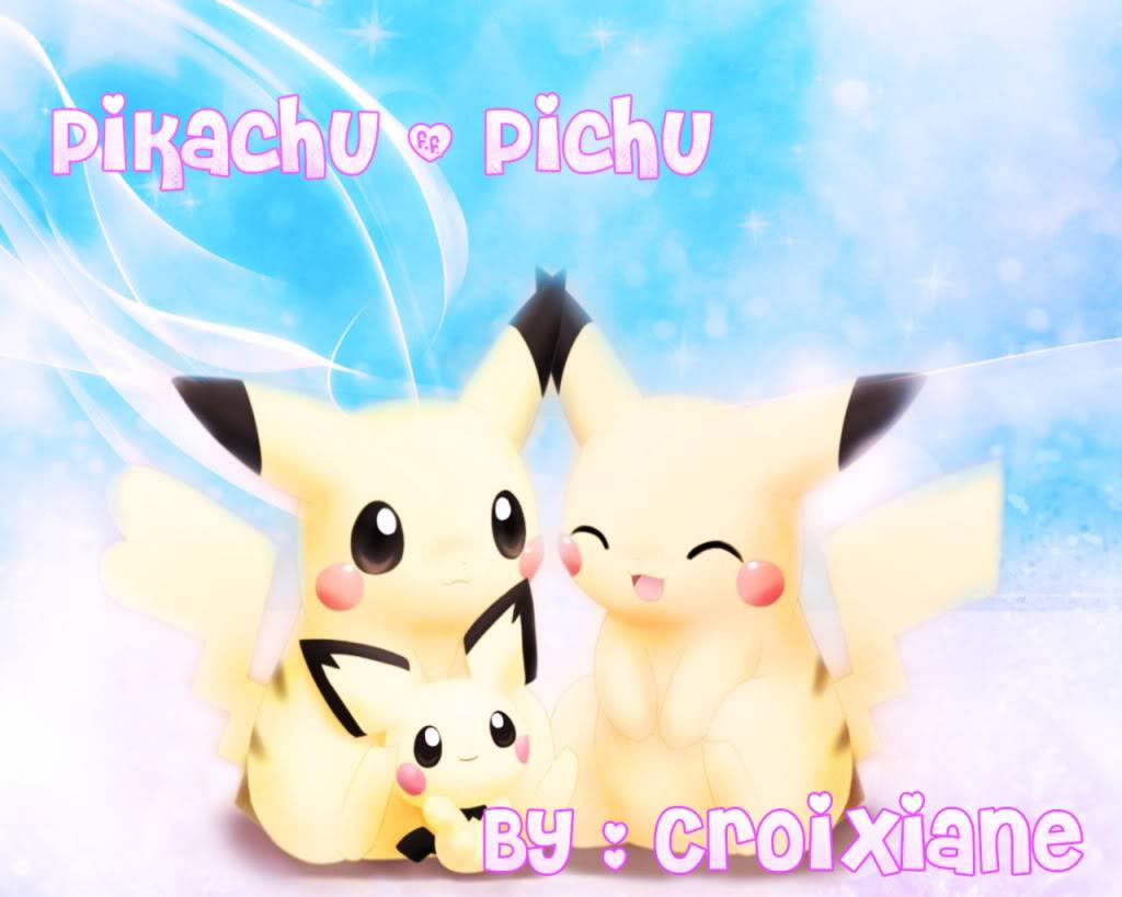 Ciane's Wallpapers PikachuandPichu