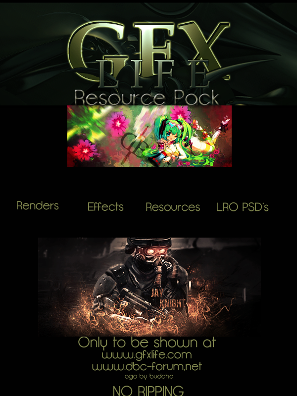 Gfx Life Resource Pack #1 Resourcegfxlife