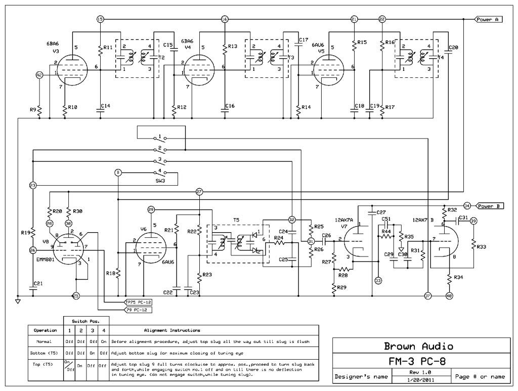 FM3 circuit boards DynacoFM-3-1