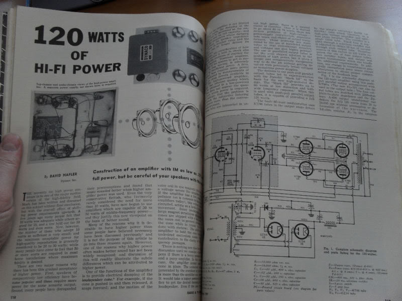 """120Watts of Hi-Fi Power"" by David Hafler HaflerArticle"