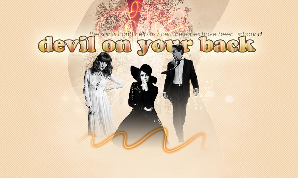 DEVIL ON YOUR BACK Devil-on-your-back