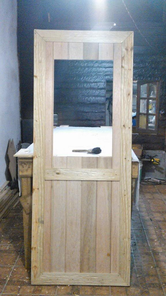 Corredizo - Portón de garaje, en madera, casero, corredizo, curvo.... 12_zpsfe11fb8a