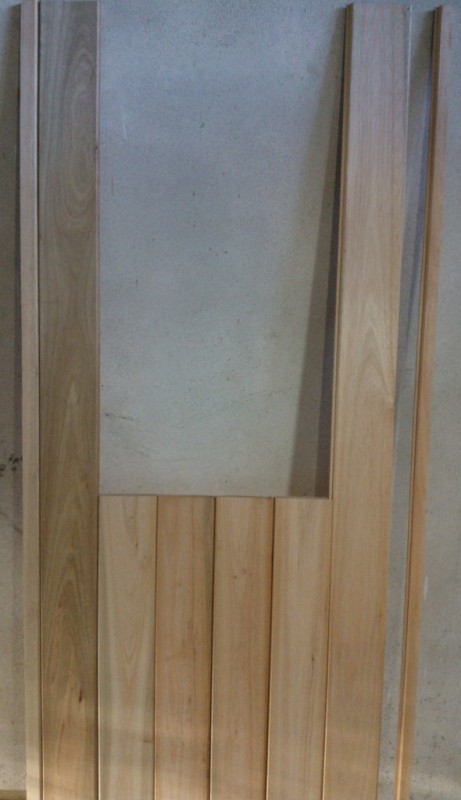 Corredizo - Portón de garaje, en madera, casero, corredizo, curvo.... 8-1_zps7e204c82