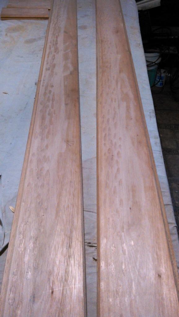 Portón de garaje, en madera, casero, corredizo, curvo.... WP_000359_zps369a3402