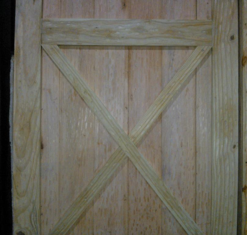 Corredizo - Portón de garaje, en madera, casero, corredizo, curvo.... WP_000373_zps89cb14a2