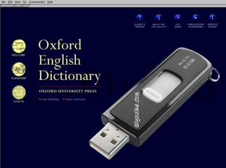 Oxford English Dictionary with Pronunciation Portable 108