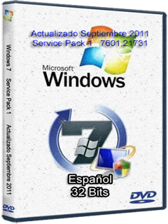 Windows 7 SP1 7601.21731 [32bits] [Español] [Act/Sep] 116
