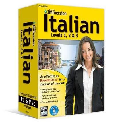 Instant Immersion Italian (Levels 1-3) 150