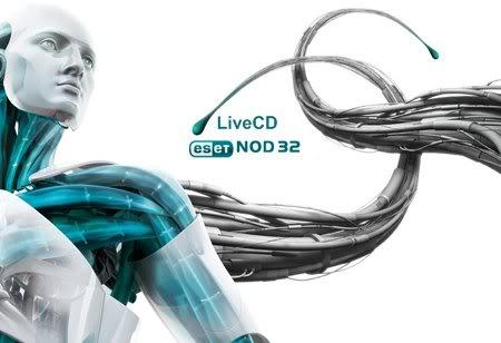 LiveCD ESET NOD32 (08.09.2011) EN / RU + Instrucciones Nod32