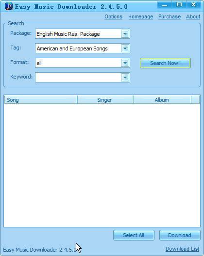 SooftMoon Easy Music Downloader 2.5.0.12 + Portable Easymusicdownloader