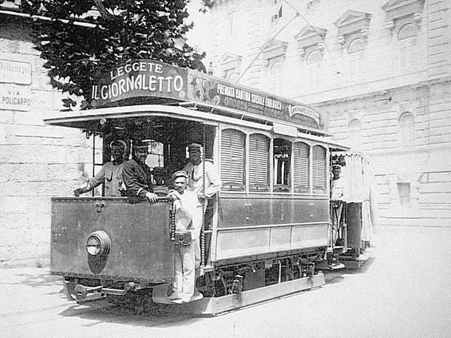 Tramvaj u Puli Pula-tram