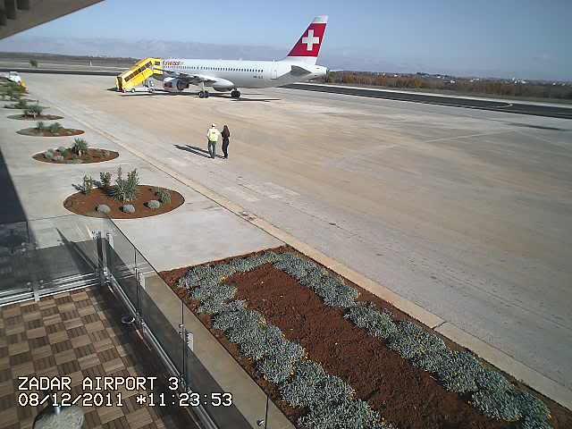 Zračna luka Zadar Swiss320zadar1